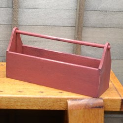 Red Tool Tote